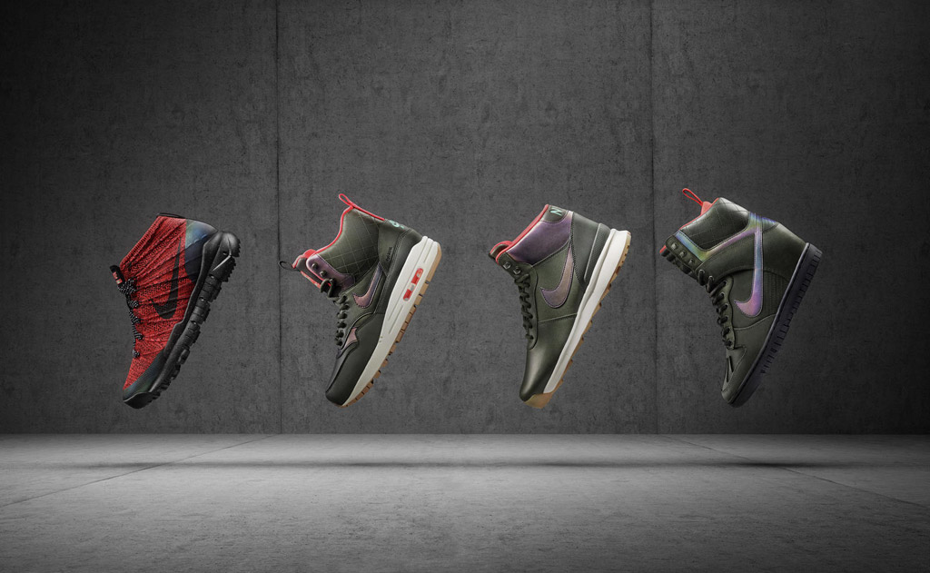 women's Nike SneakerBoot collection